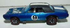 Original 1969 Mattel Hot Wheels Redline Tnt Bird Blue White Interior Ford Nice
