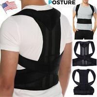 Back Brace Posture Corrector Best Fully Adjustable Lumbar Support For Back Pain