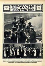 Cameraman visita del Primo Ministro francese Poincarè Russia 1912