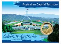 Australien 1 Dollar 2009 Celebrate Australia Capital Territory