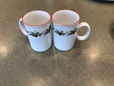 11 Porsgrund Norway Hearts and Pines Round Mug Small