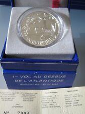 1€ 1/2 75 ans du 1er vol au dessus de l'Atlantique 2002 BE