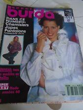 MAGAZINE BURDA SPECIAL JUPES PANTALONS  CHEMISIERS AUTOMNE HIVER   1991/1992