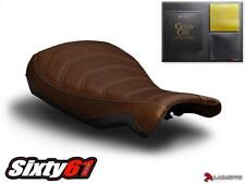 BMW RNineT R NineT Seat Cover 2014 2015 2016 2017 2018 Dark Brown w Gel Luimoto
