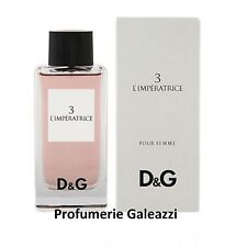 D&G DOLCE E GABBANA L'IMPERATRICE 3 POUR FEMME EDT VAPO SPRAY - 100 ml