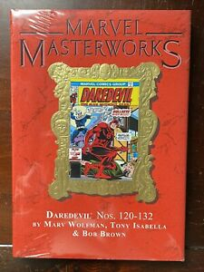 Marvel Masterworks Vol. 254 DAREDEVIL Nos. 120-132 - HC SEALED - ONLY 733 COPIES