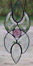 Verre Au Plomb, Facettes Baie Vitrée Avec Verre Art Nouveau A Tiffany (Cu / Sn)