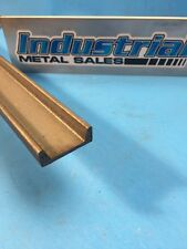 "A-36 Hot Rolled Steel Channel 1-1/2"" x 1/2"" x 12"" x 1/8"" Thick-- FREE SHIPPING"