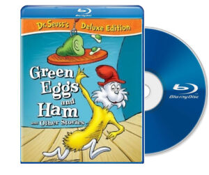 Green Eggs and Ham  Dr Seuss Deluxe Edition (Blu Ray, DVD) NEW