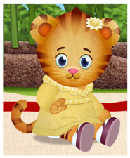 "Margaret ( Daniel Tiger ) Iron On Transfer 4.75 ""x 6"" for LIGHT Colored Fabric"