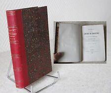 Documents relatifs aux corporations d'arts et métiers du diocèse du Mans 1860