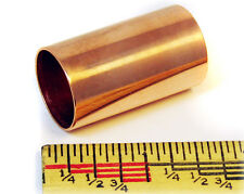 """Polished Copper Pipe Stubby Slide: 1 1/2"""" Great for Cigar Box Guitar!"""