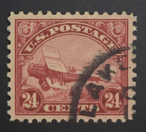 MOMEN: US STAMPS #C6 USED PSE GRADED CERT SUP-98 LOT #72060