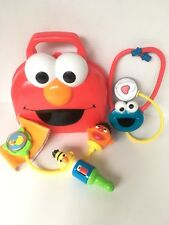 2006 Sesame Street Baby Doctor Play Kit Parts Fisher Price Cookie Stethoscope