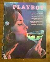 Original ~  February 1963 ~ Playboy Cover ~ Cover Only ~ Party Martini