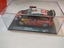 Collection SAICO Citroen C4 WRC S. Loeb Rally Argentina 2008