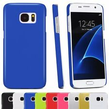 Slim Fit Phone Case Cover Snap-On Design Back Shell Rubber Coated Hard Plastic