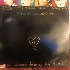 AGE OF CHANCE Time's Up 12 INCH VINYL UK Virgin 1989 3 Track
