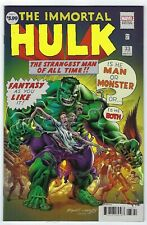 Immortal Hulk # 33 Bennett Homage Variant NM Marvel