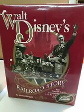 Signed Limited Edition Michael Broggie Walt Disney's Railroad Story Disneyland