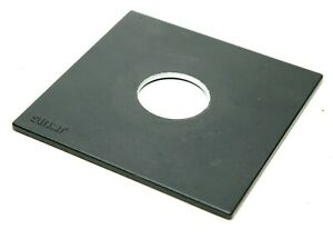 Sinar Original Lens Board W/Logo F/Copal Shutter #1 W/42mm Hole. Fits Horseman.
