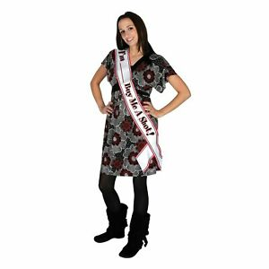 """One New """"I'm Blank Buy Me A Shot !"""" Satin Sash  *~* FAST FREE SHIPPING *~*"""