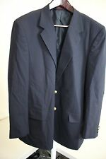 Unbranded 100% Wool Navy 2 Button Blazer Size - 44R