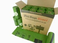 Dog Poo Bags On A Roll Green Large OXO Biodegradable 100% Leak Proof 240 Bag NEW
