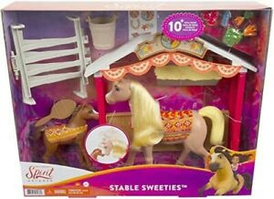 Spirit Horse & Foal Playset Stable Sweeties Toy from Dreamworks Untamed Ages 3+