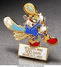 OLYMPIC PINS 1996 ATLANTA MASCOT IZZY SPORTS 500 DAYS