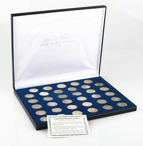 American Historic Society John F. Kennedy Half Dollar Collection 1964 - 1999