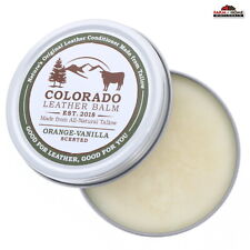 Leather Conditioner Restorer Balm Scented ~ New