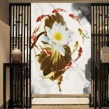 Door Curtain Chinese Retro Feng Shui Kitchen Tapestry Doorway Room Divider Decor