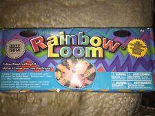 Rainbow Loom Rubber Bracelet Making Kit! 600+latex Rubber Bands