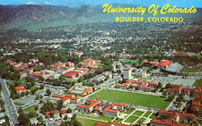 Carte ETATS UNIS University of Colorado BOULDER