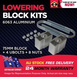 "Lowering Blocks Kit Ford Fairmont V8 XB XC XE XF 3"" (75mm) 1966 -1988"