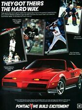 1984 Pontiac Trans AM Rick Dempsey Moses Malone Billy.Smith Allen Original Ad