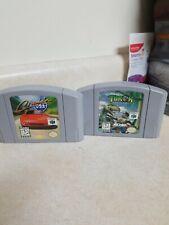 Nintendo 64 Lot Turok And Cruis N USA Tested