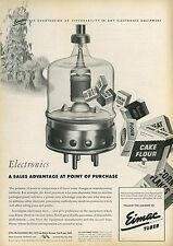 1945 Eimac Electron Vacuum Tubes Ad Industry Technology Food Processing