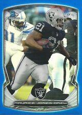 2014 14 Bowman Maurice Jones-Drew BLUE REFRACTOR #/199 Oakland Raiders UCLA