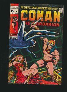 Conan The Barbarian #4, 6.5/Fine+