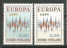FINLANDIA EUROPA cept 1972 Sin Fijasellos MNH