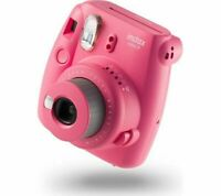Instax Mini 9 Clear Instant Print Camera With 10 Shots Flamingo Pink Fujifilm