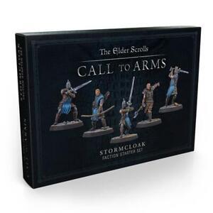 Elder Scrolls - Stormcloak Faction Starter NEW Miniatures Game