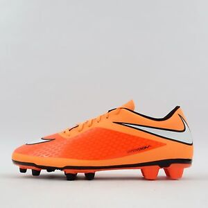 Nike Hypervenom Phade FG Mens Firm Ground Football Boots Hyper Crimson/White
