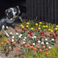 N Garden Scenery - Rose plants, 120 flowers - Busch 8105 - free post F1