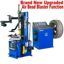 +1.5 HP Automatic Tire Changer Wheel Changers Machine Rim Balancer Combo 960 680