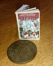 Walking Dead Graphic novel 1:12th scale for dolls houses with pictures SALE SALE