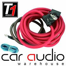 10 AWG 800 Watt 10 Gauge Car Amplifier Amp Sub Power Earth & Remote Wiring Kit