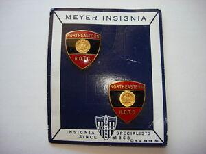 Lot De 2 États-Unis Nord Est R.o.t.c Insignes Fabriqué Par NS Meyer Avec , Neuf